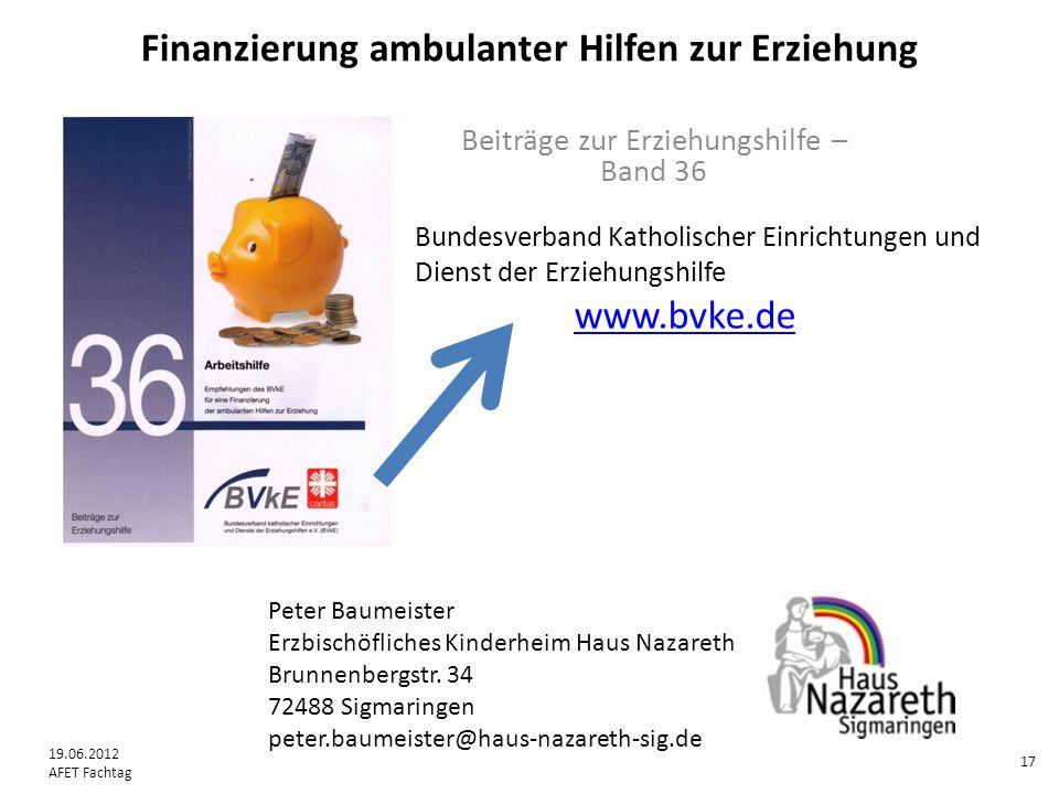 Peter Baumeister Erzbischöfliches Kinderheim Haus Nazareth Brunnenbergstr.