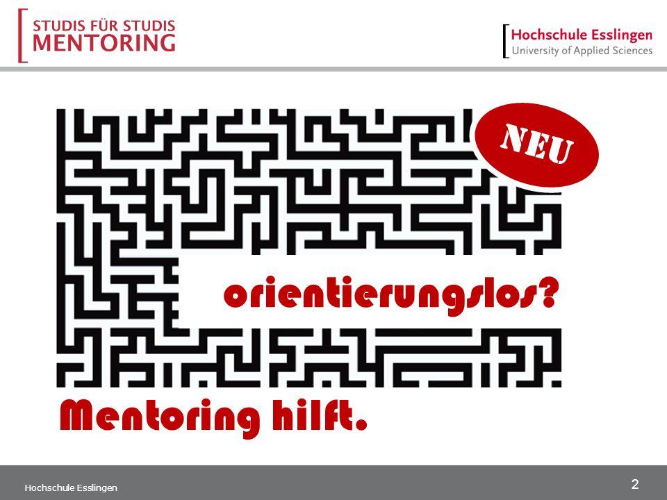 2 orientierungslos Mentoring hilft. neu