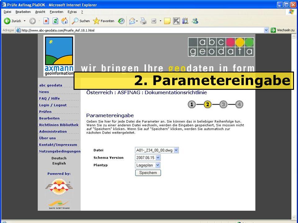 04.06.2008H. Grottenegg13 2. Parametereingabe