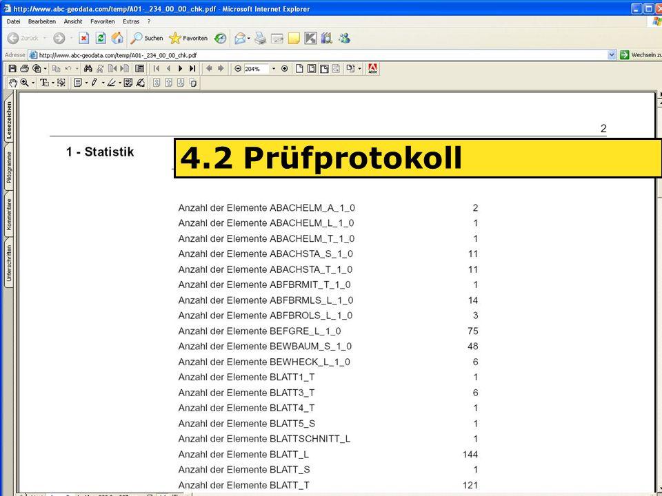 04.06.2008H. Grottenegg19 4.2 Prüfprotokoll