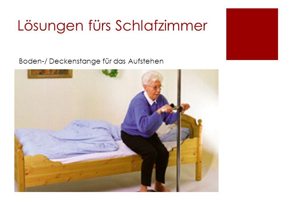 Lösungen fürs Schlafzimmer Boden-/ Deckenstange für das Aufstehen