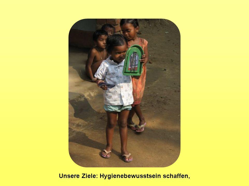 Unsere Ziele: Hygienebewusstsein schaffen,