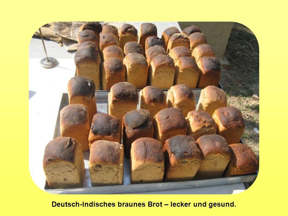 Deutsch-Indisches braunes Brot – lecker und gesund.