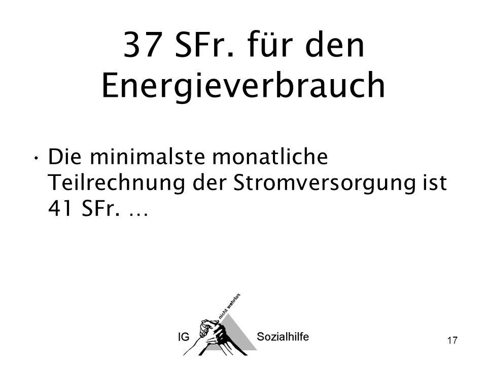 17 37 SFr.