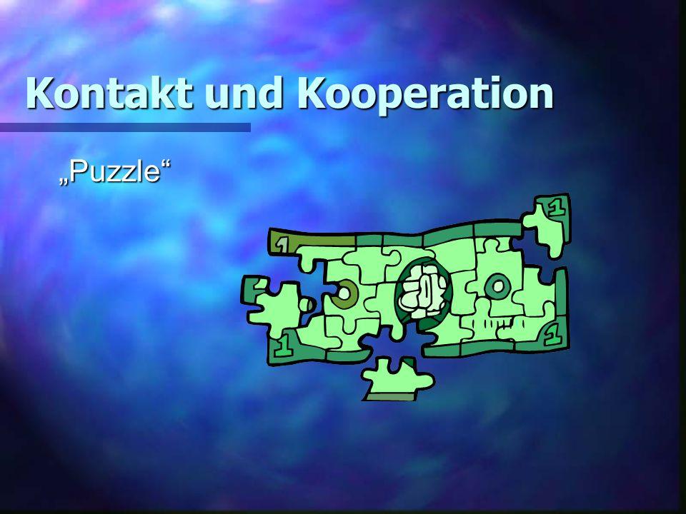 Kontakt und Kooperation Puzzle