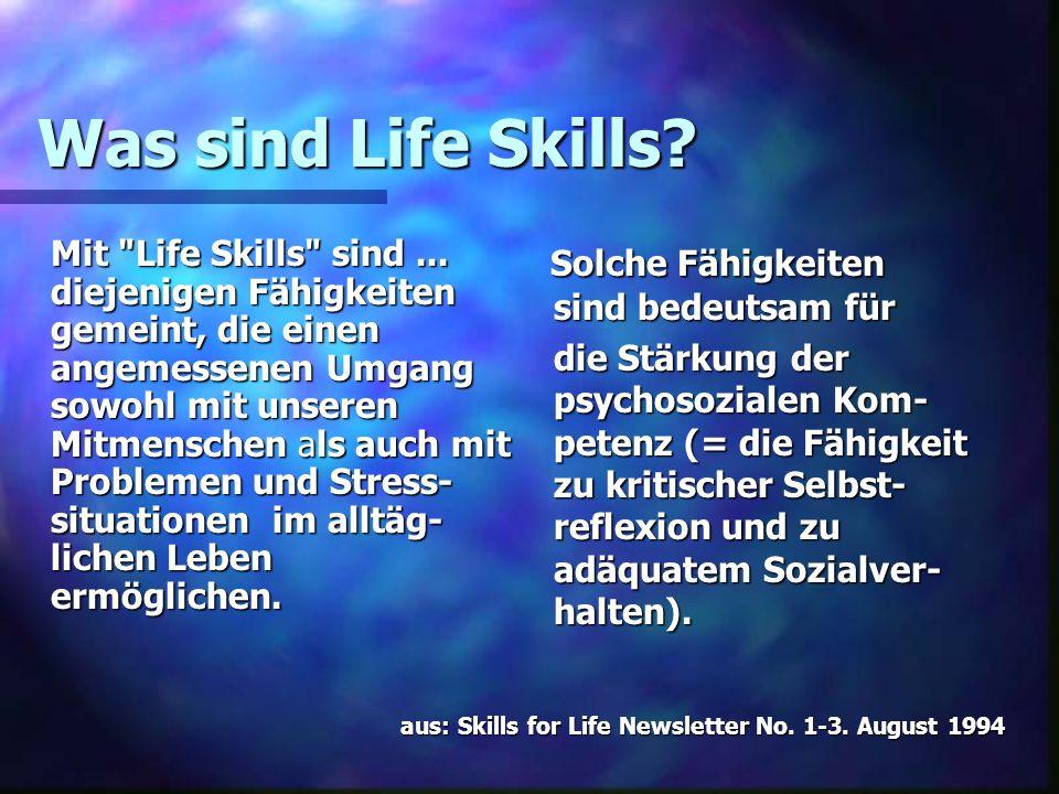 Was sind Life Skills? Mit