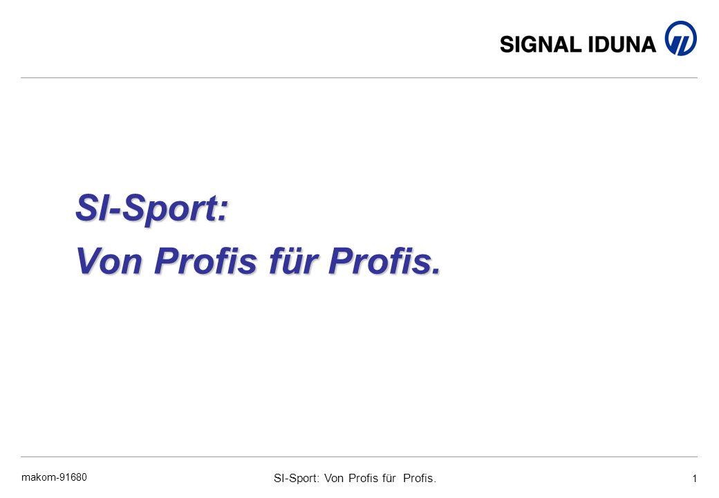 SI-Sport: Von Profis für Profis. makom-91680 1 SI-Sport: Von Profis für Profis.