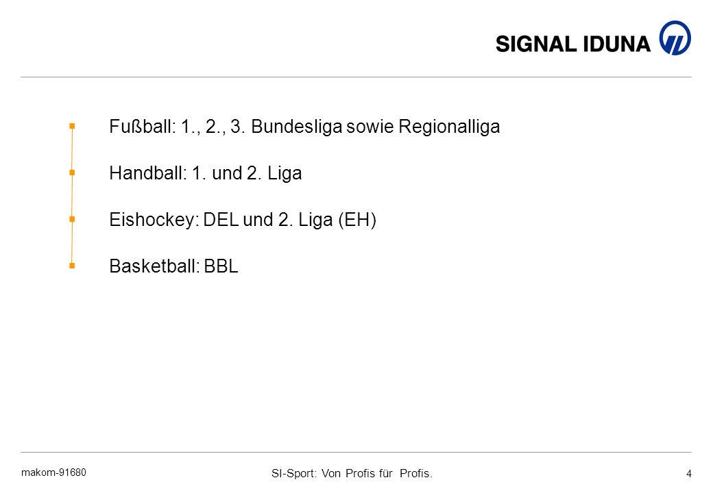 SI-Sport: Von Profis für Profis.makom-91680 4 Fußball: 1., 2., 3.