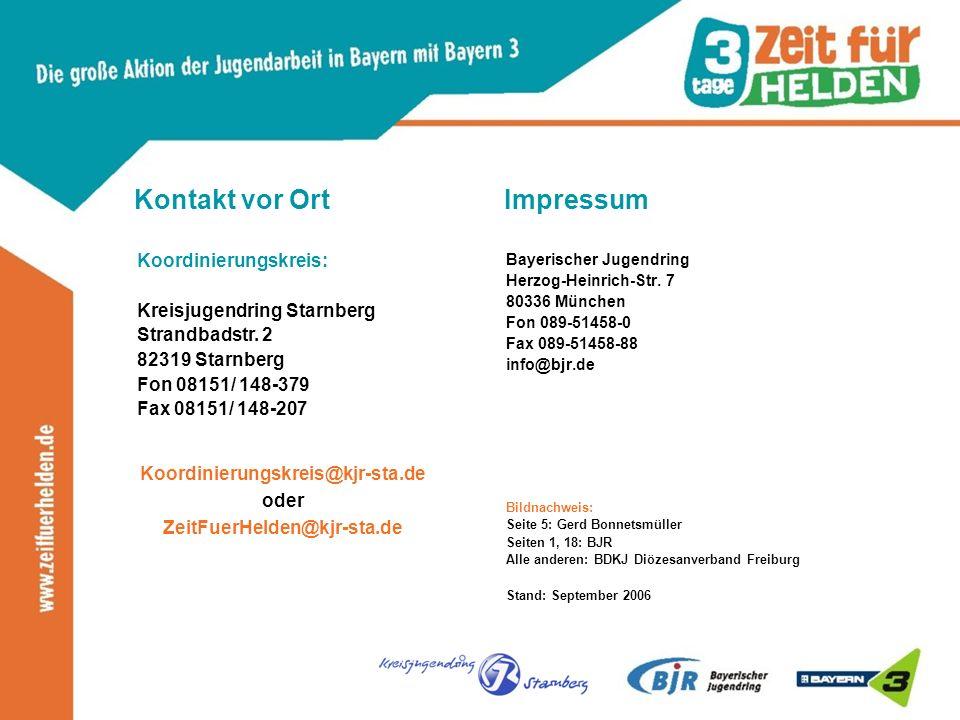 Impressum Bayerischer Jugendring Herzog-Heinrich-Str.