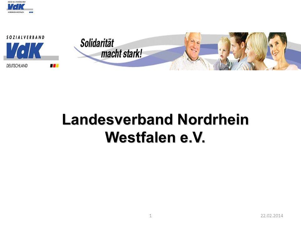 122.02.2014 Landesverband Nordrhein Westfalen e.V.