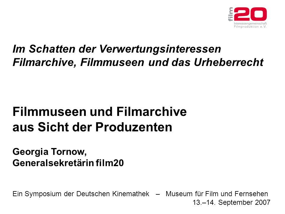 Ein Symposium der Deutschen Kinemathek – Museum für Film und Fernsehen 13.–14.