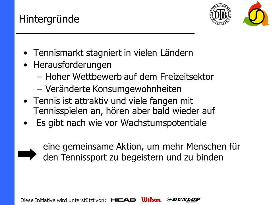 Diese Initiative wird unterstützt von: Was ist Tennis...PLAY+STAY.