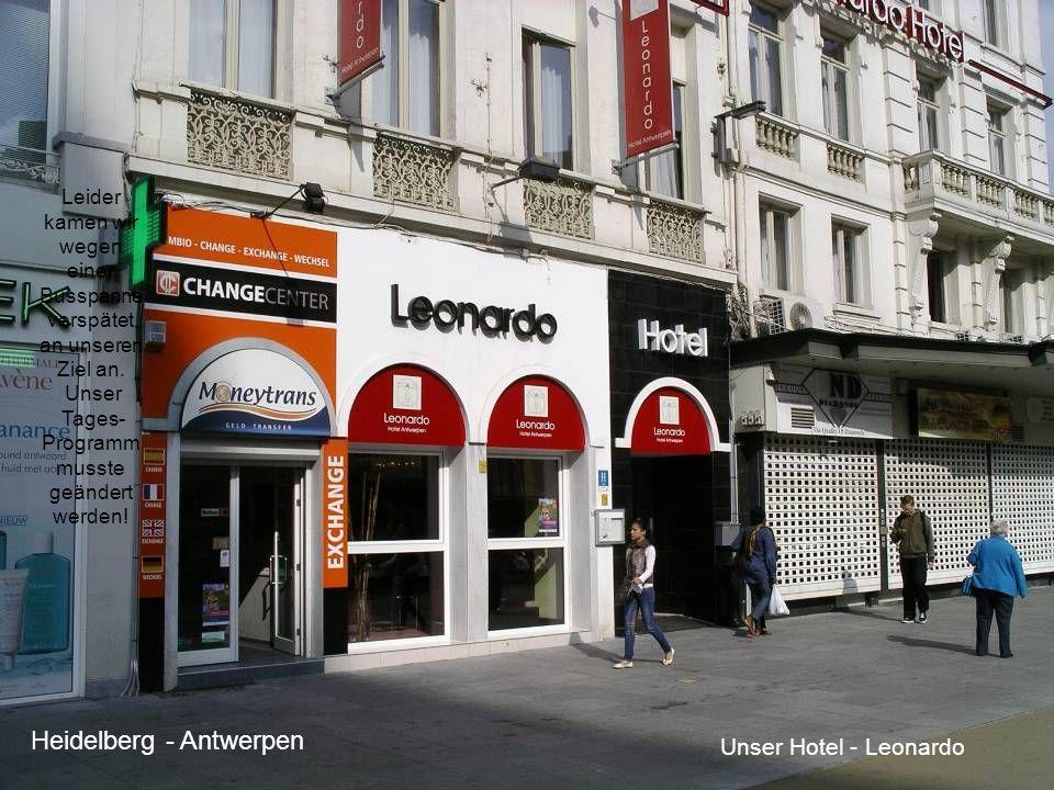 Akademie für Ältere Heidelberg Name BrüsselAfÄ2 Leider kamen wir wegen einer Busspanne verspätet an unseren Ziel an.