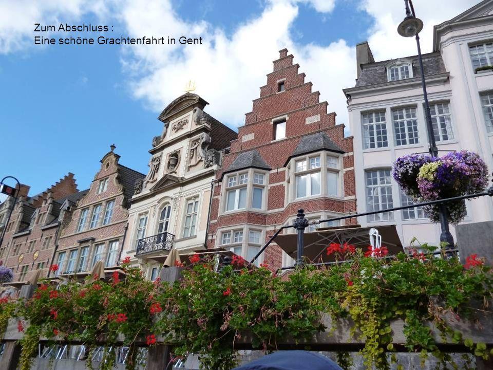 Akademie für Ältere Heidelberg Name GentAfÄ25 Zum Abschluss : Eine schöne Grachtenfahrt in Gent