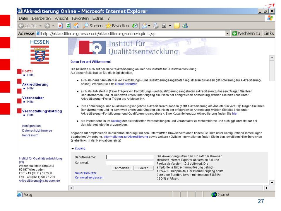 Hessisches Kultusministerium Institut für Qualitätsentwicklung 27