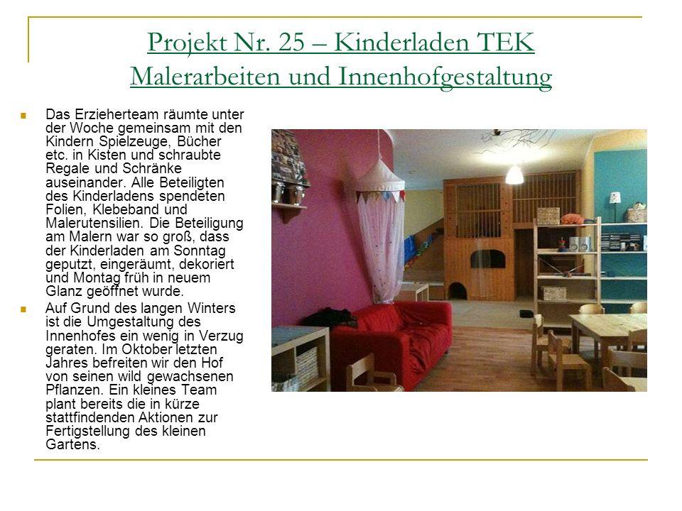Projekt Nr. 16 – Eintracht Südring e.V. Renovierung und Neugestaltung des Clubheimes