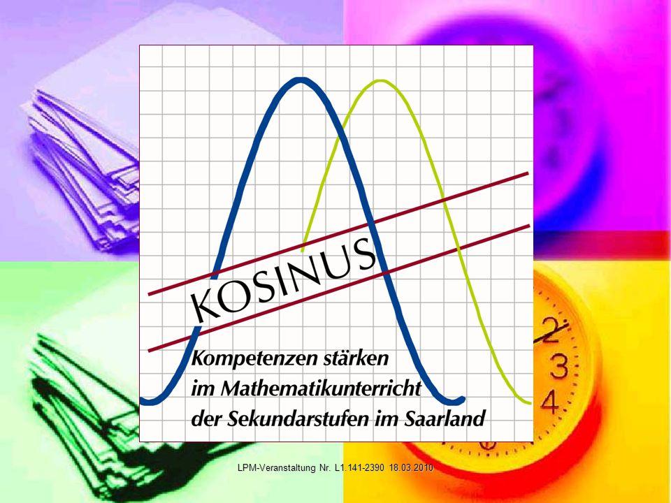 KOSINUS-Projekt Ziele Ziele Ablaufplan Ablaufplan Beraterstruktur Beraterstruktur Vorteile für alle Vorteile für alle Schulen des 1.