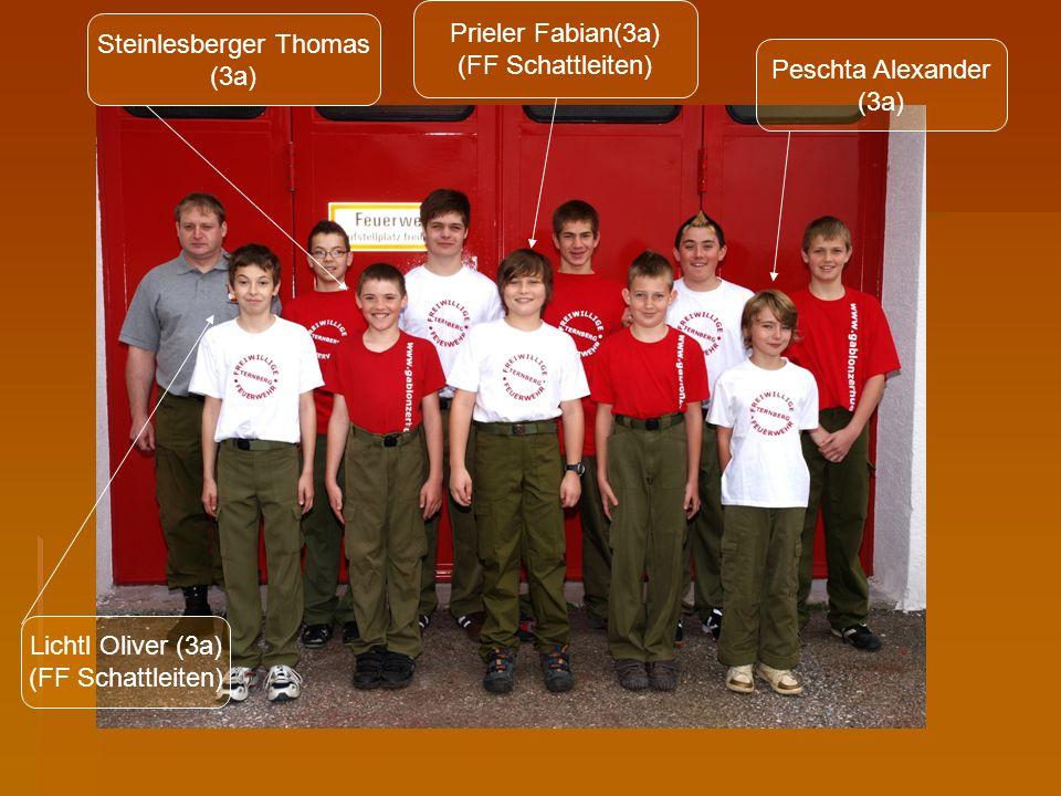 Feuerwehr Jugend FF Schweinsegg - Zehetner Ein paar Jugendliche der HS Ternberg sind bei der Jugendgruppe der ortsübergreifenden FF Schweinsegg – Zehetner.