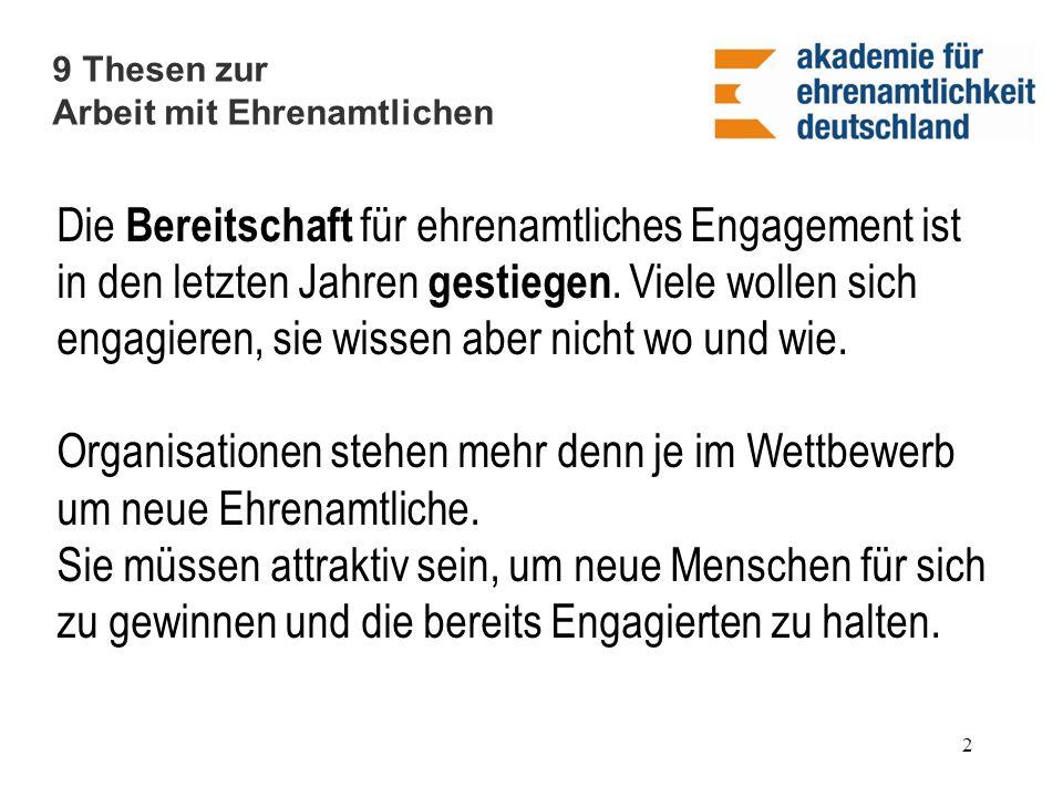 Ehrenamtliche der Martin Luther Gemeinde Berlin-Neukölln www.martin-luther-neukoelln.de 13 Ein Beispiel für eine gelungene Zusammenarbeit mit Ehrenamtlichen