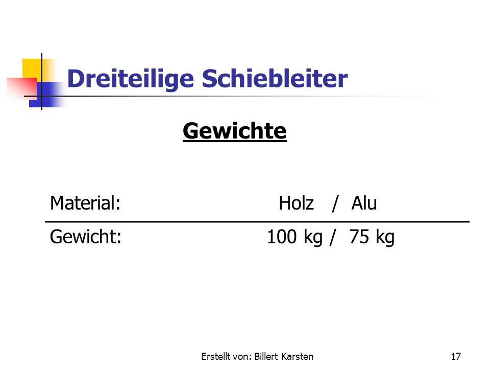 Erstellt von: Billert Karsten16 Dreiteilige Schiebleiter Maße Transportlänge: 5,60 m Einsatzlänge:14,00 m max. Rettungshöhe: 12,00 m