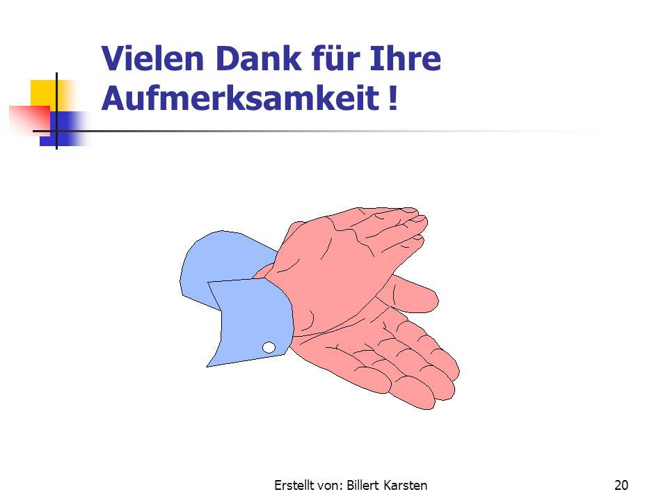 Erstellt von: Billert Karsten19 Zusammenfassung