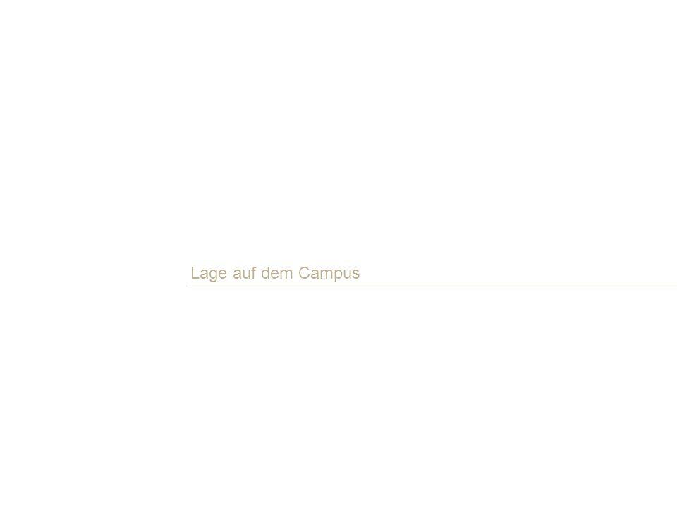 Lage auf dem Campus