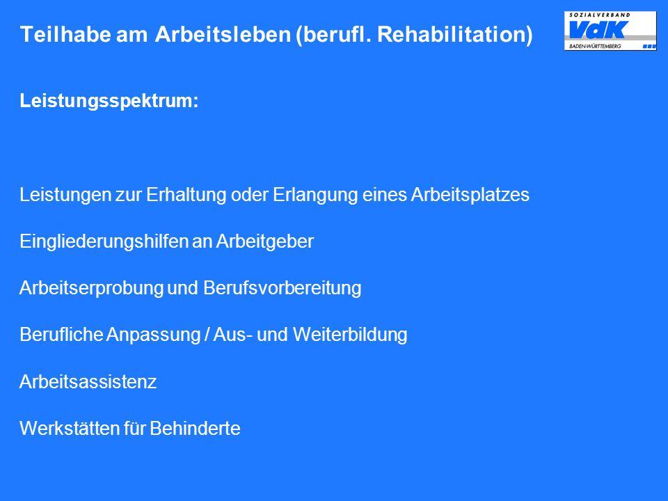 Schulische Reha / Soziale Maßnahmen und Hilfen Schulische Reha nach SGB VIII bzw.