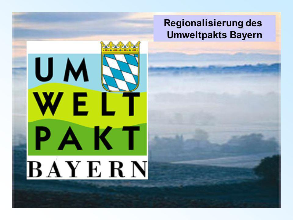 Oberfranken Auftaktveranstaltung mit Umweltminister Netzwerk: 6 Landkreise, 1 krsfr.