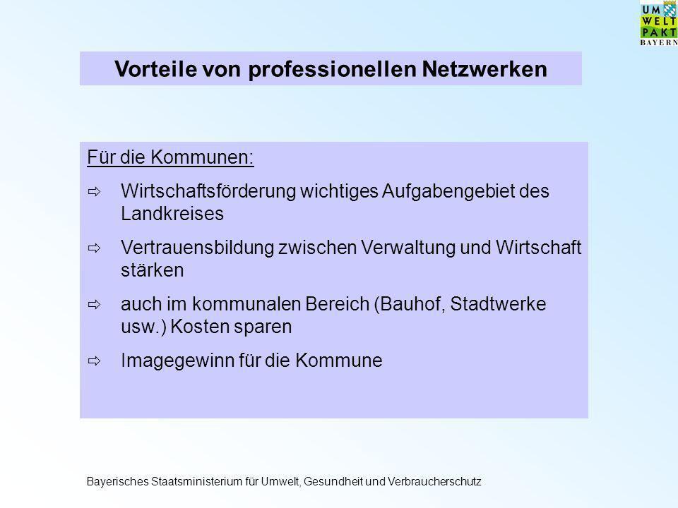 Für die Kommunen: Wirtschaftsförderung wichtiges Aufgabengebiet des Landkreises Vertrauensbildung zwischen Verwaltung und Wirtschaft stärken auch im k