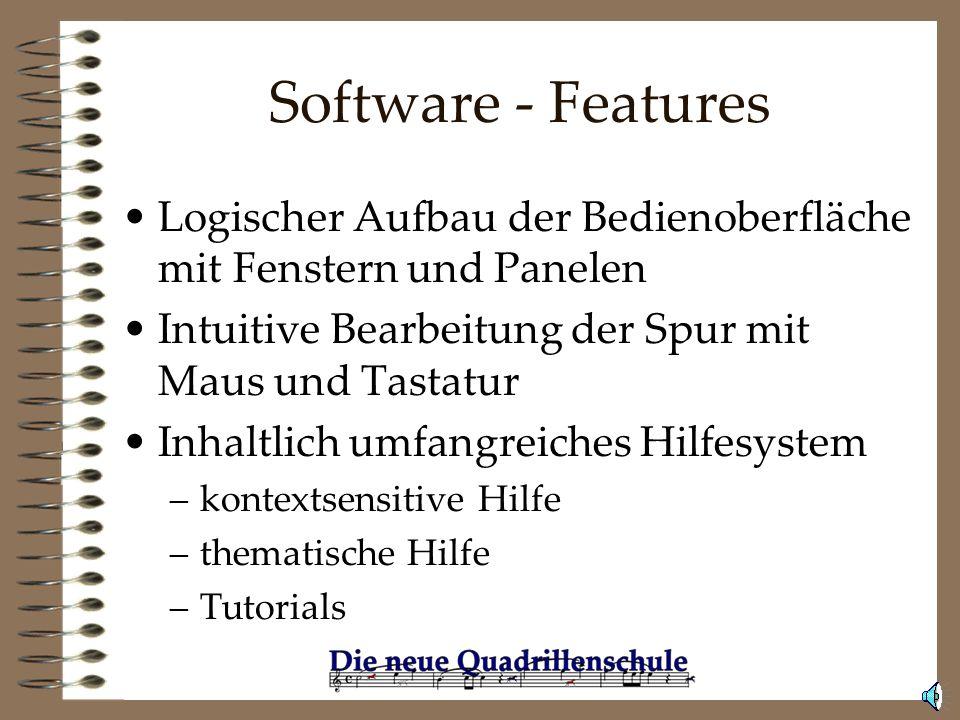 Software - Sonstige Werkzeuge Der QuadrillenViewer. Kostenloser Betrachter. Der JuryAssistant zur Bewertung von Aufgaben und Küren.