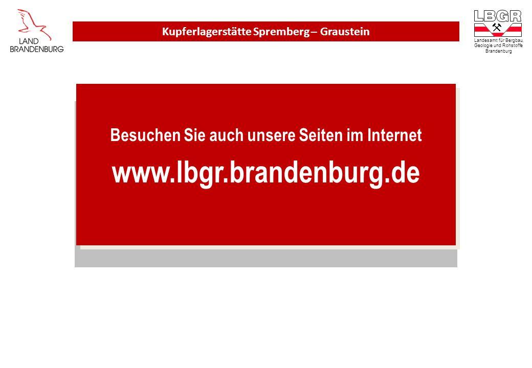Besuchen Sie auch unsere Seiten im Internet www.lbgr.brandenburg.de Besuchen Sie auch unsere Seiten im Internet www.lbgr.brandenburg.de Landesamt für