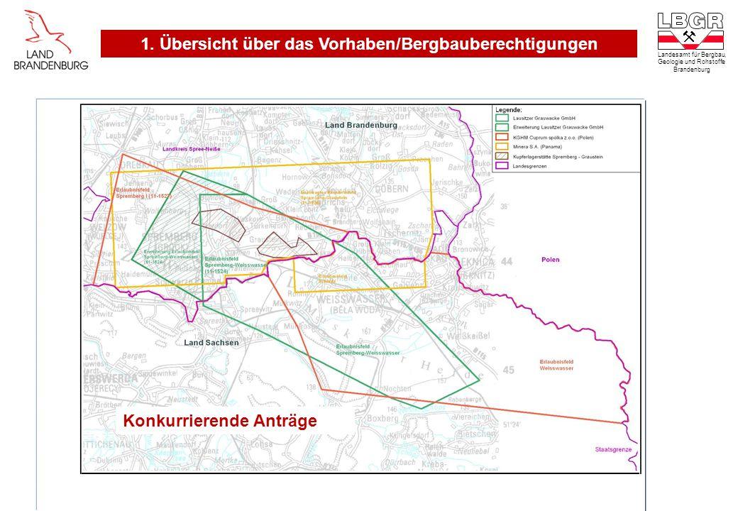 Landesamt für Bergbau, Geologie und Rohstoffe Brandenburg Konkurrierende Anträge