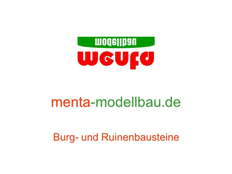 menta-modellbau.de Burg- und Ruinenbausteine