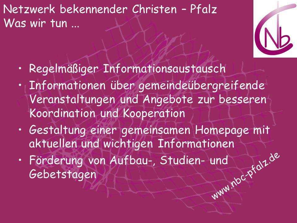 Regelmäßiger Informationsaustausch Informationen über gemeindeübergreifende Veranstaltungen und Angebote zur besseren Koordination und Kooperation Ges