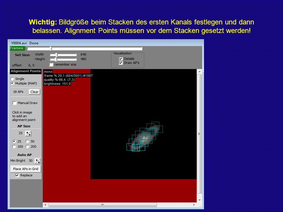 Bearbeitung der gestackten Bilder in PixInsight Stärken von PI: Farbkalibrierung Schärfung Die unbearbeiteten Rohbilder (vom 3.