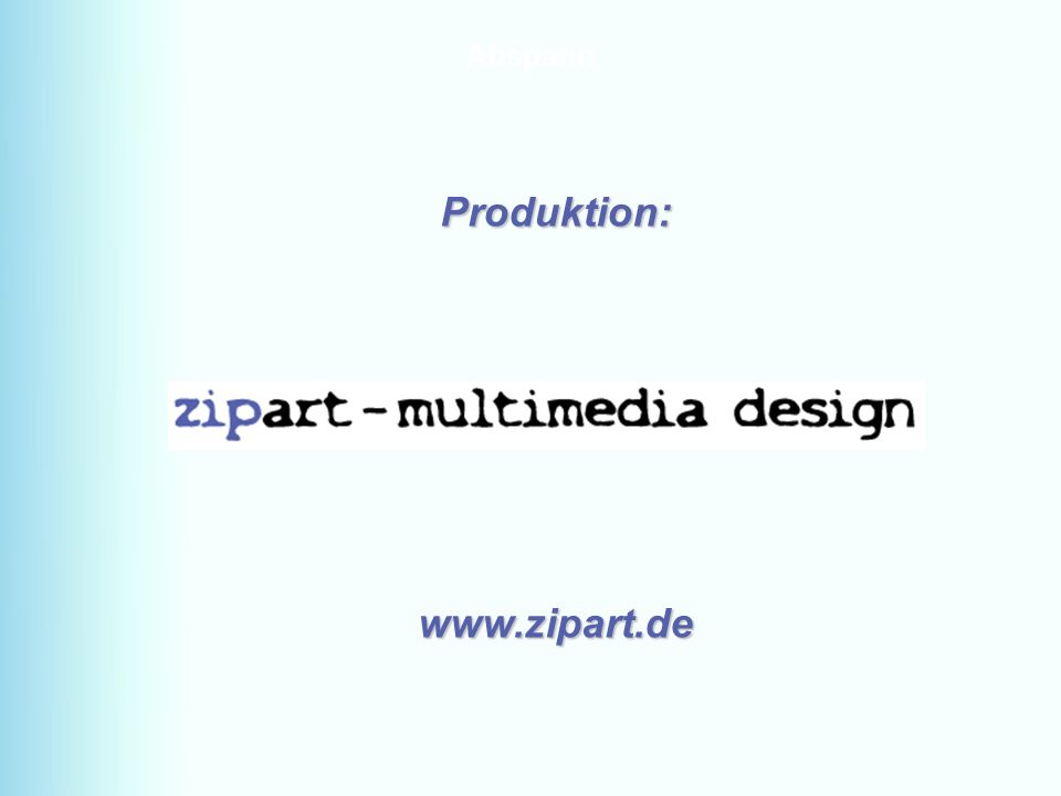 D-49328 Melle Tel. + 49 5422-921834 Fax: + 49 5422-921836 www.kaelte-weber-melle.deMENU64 Abspann Produktion:www.zipart.de