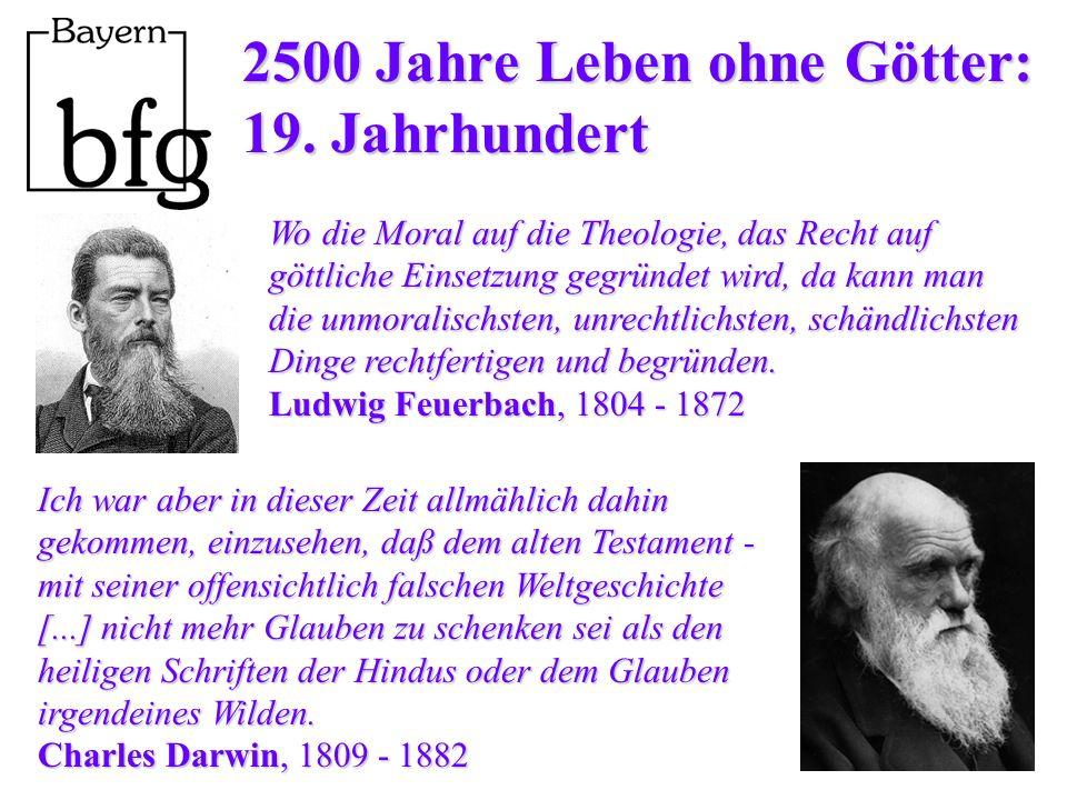 2500 Jahre Leben ohne Götter: 19.