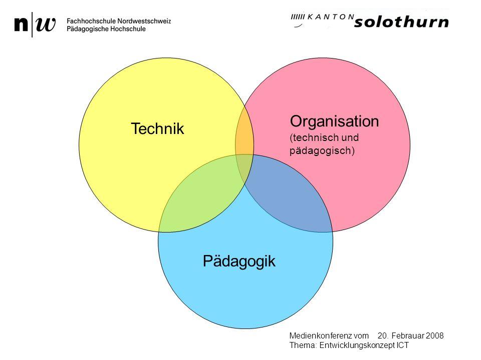 20. Febrauar 2008Medienkonferenz vom Thema: Entwicklungskonzept ICT Ein Bild sagt mehr 1000 Worte …