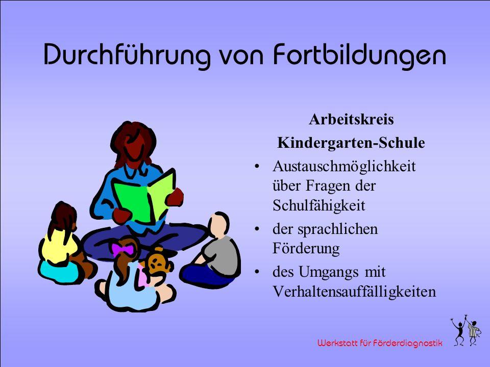 Werkstatt für Förderdiagnostik Durchführung von Fortbildungen Das Bilderbuch Zottel als förderdiagnostisches Material im Schuleingangsbereich