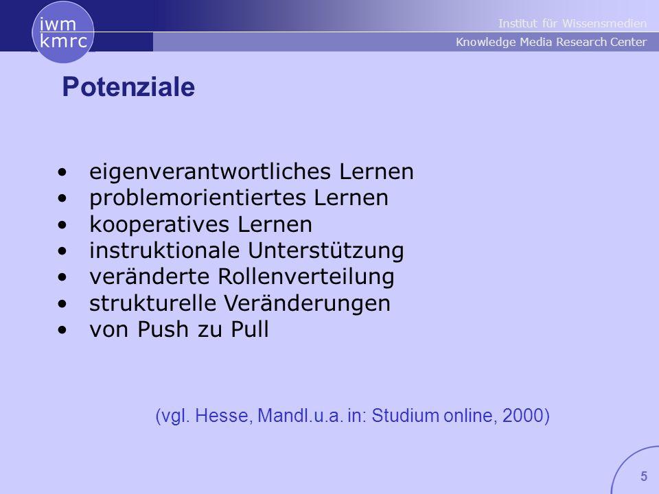 Institut für Wissensmedien Knowledge Media Research Center 26 Duisburg, Inhalte eCompetence