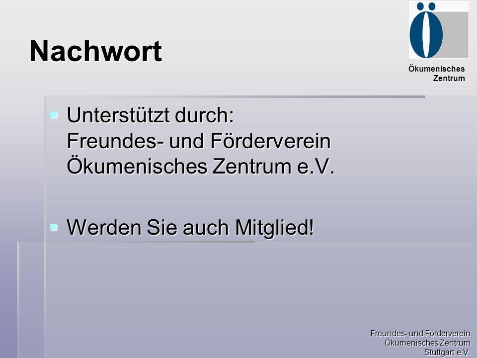 Freundes- und Förderverein Ökumenisches Zentrum Stuttgart e.V.
