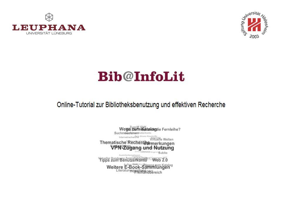 Was Sie erwartet … Hintergrundinformationen zum Projekt Blick in Bib@InfoLit Blick hinter Bib@InfoLit Aktueller Stand Ausblick