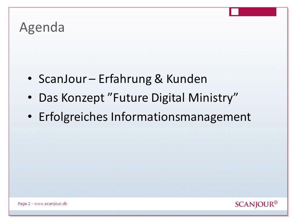 Page 3 · www.scanjour.dk Wer ist ScanJour.