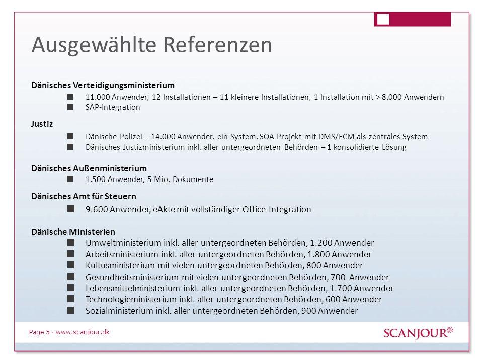 Page 16 · www.scanjour.dk Papierbasierte Vorlage Vorlage ausdrucken