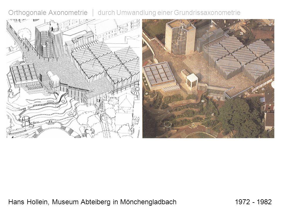 Hans Hollein, Museum Abteiberg in Mönchengladbach 1972 - 1982