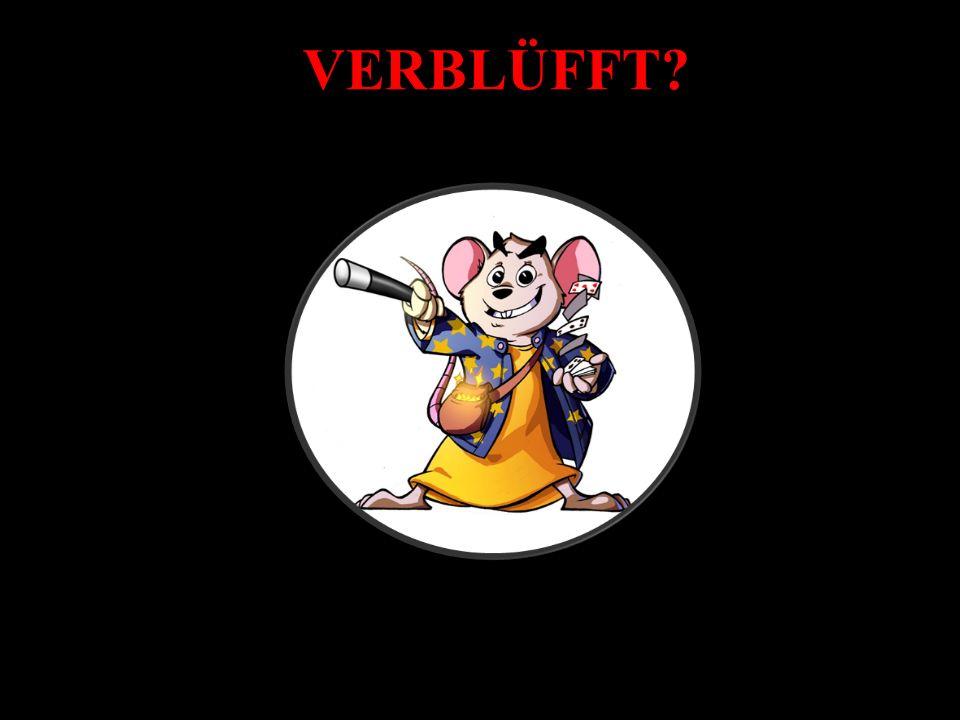 VERBLÜFFT