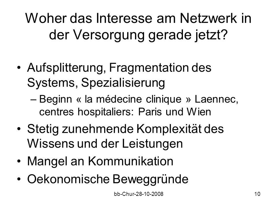 bb-Chur-28-10-200810 Woher das Interesse am Netzwerk in der Versorgung gerade jetzt.