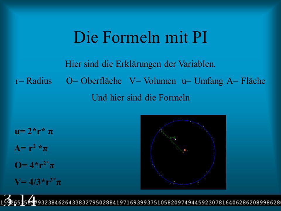Die Berechnungen von PI Gottfried Wilhelm Leibniz (1646- 1716) erfand eine einfache Rechnungsart für die Berechnung von Pi. 4*(1-1/3+1/5-1/7+1/9......