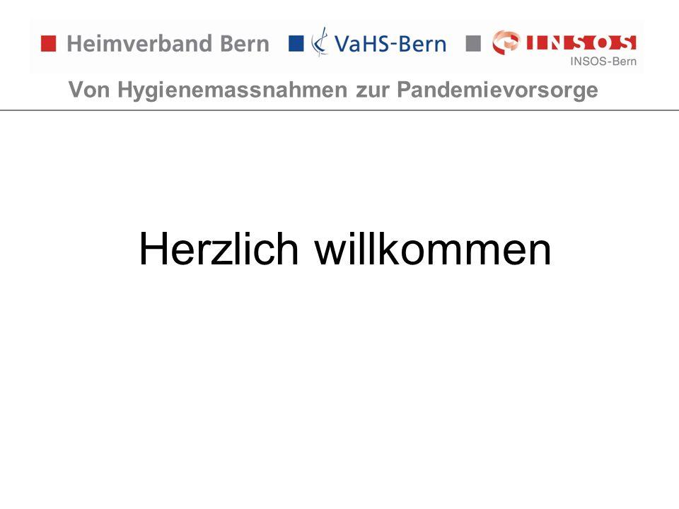 Von Hygienemassnahmen zur Pandemievorsorge Vorgaben BAG/GEF: Magen- Darminfektion Gesetzliche Grundlagen Keine weiteren Vorgaben