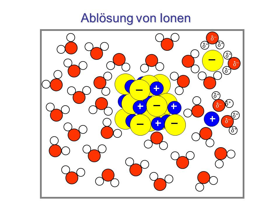 Salzlösung – – + + – + + – + + + –